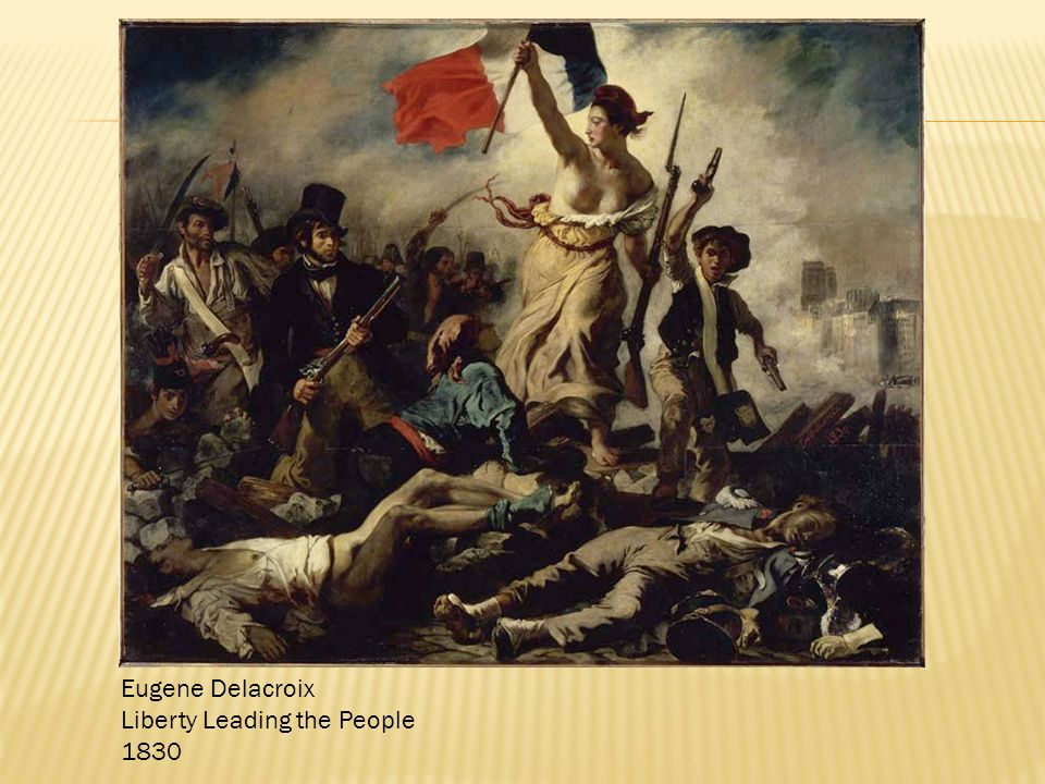 Eugene Delacroix Liberty Leading the People 1830
