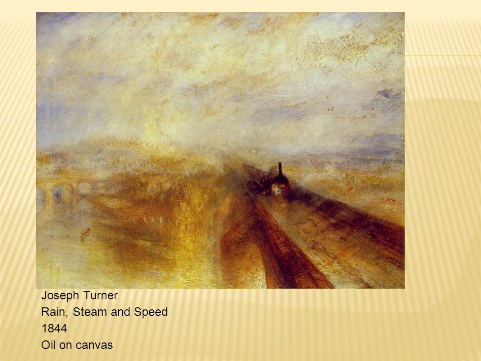 Joseph Turner Rain, Steam and Speed 1844 Oil on canvas