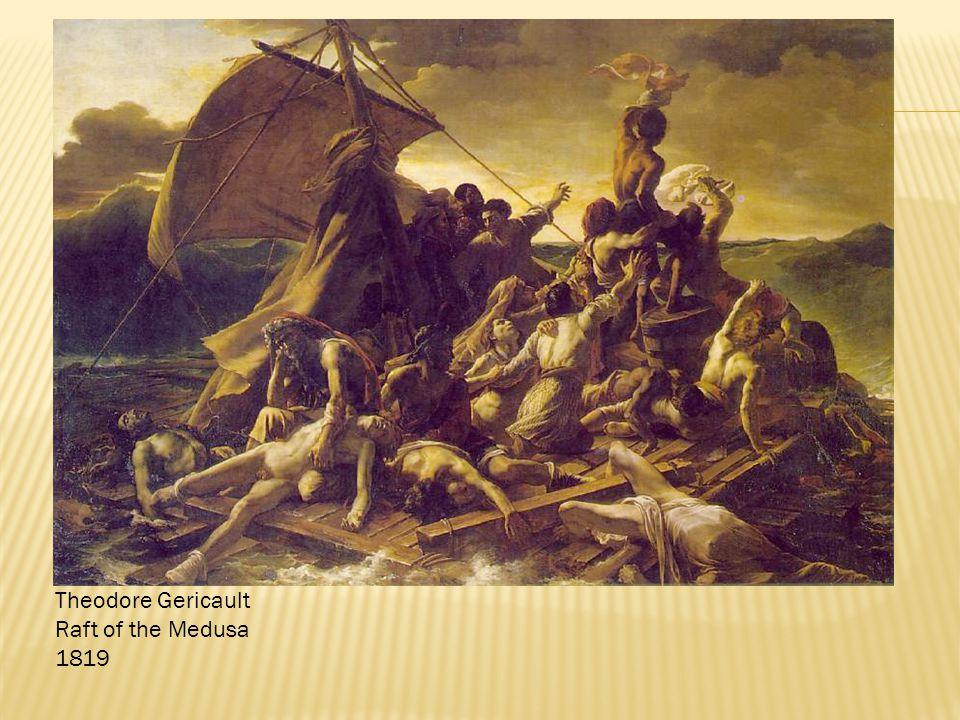 Theodore Gericault Raft of the Medusa 1819