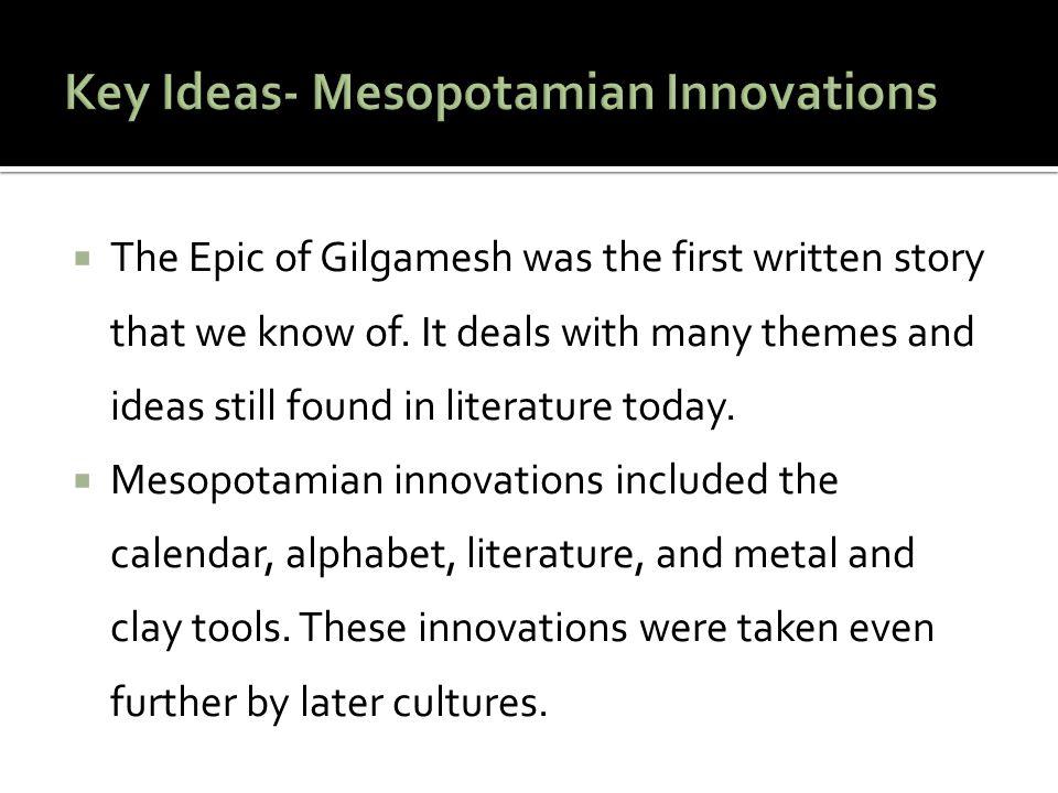 Video- Development of Writing in Mesopotamia
