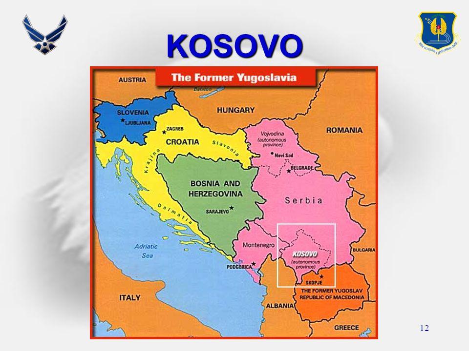 12 KOSOVO