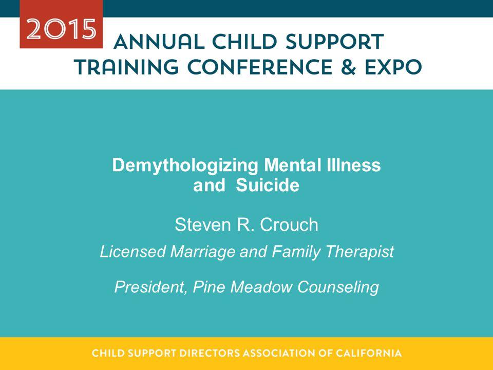 Demythologizing Mental Illness and Suicide Steven R.