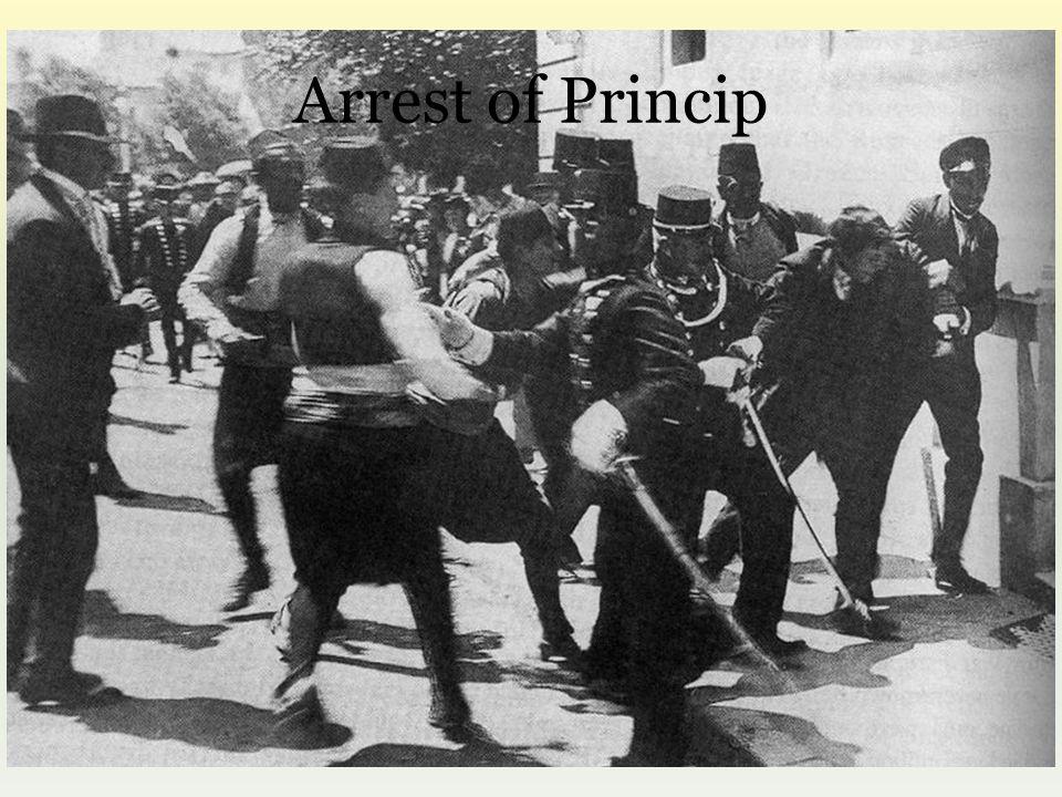 Arrest of Princip