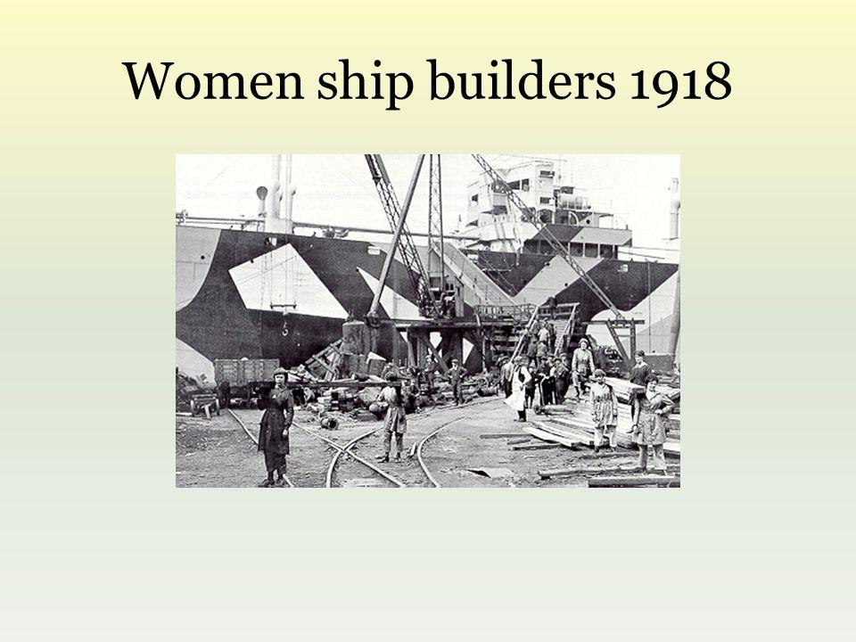 Women ship builders 1918