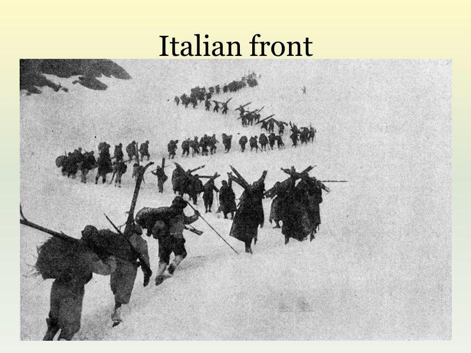 Italian front