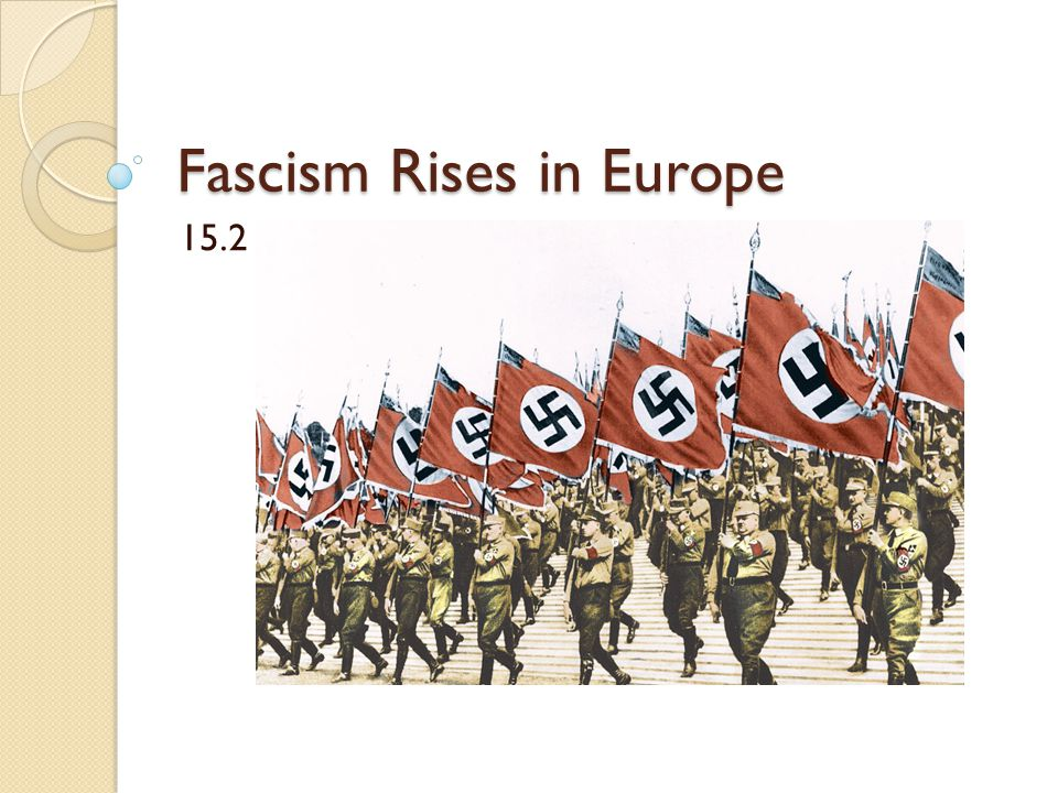 Hitler Becomes Chancellor The Nazis had become the largest political party by 1932.