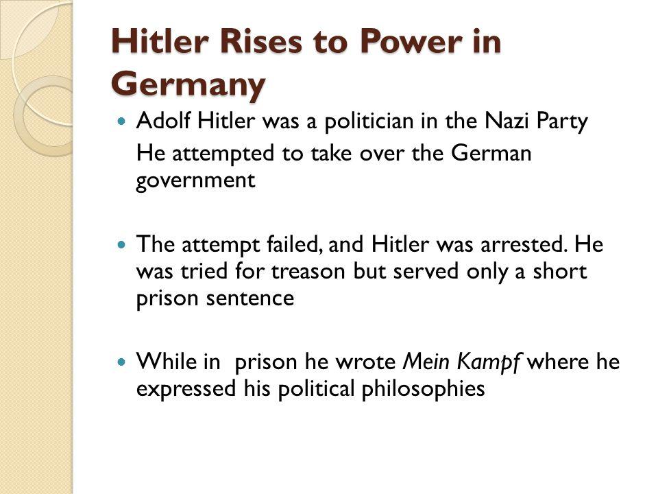 15.2.2 Rise of Hitler
