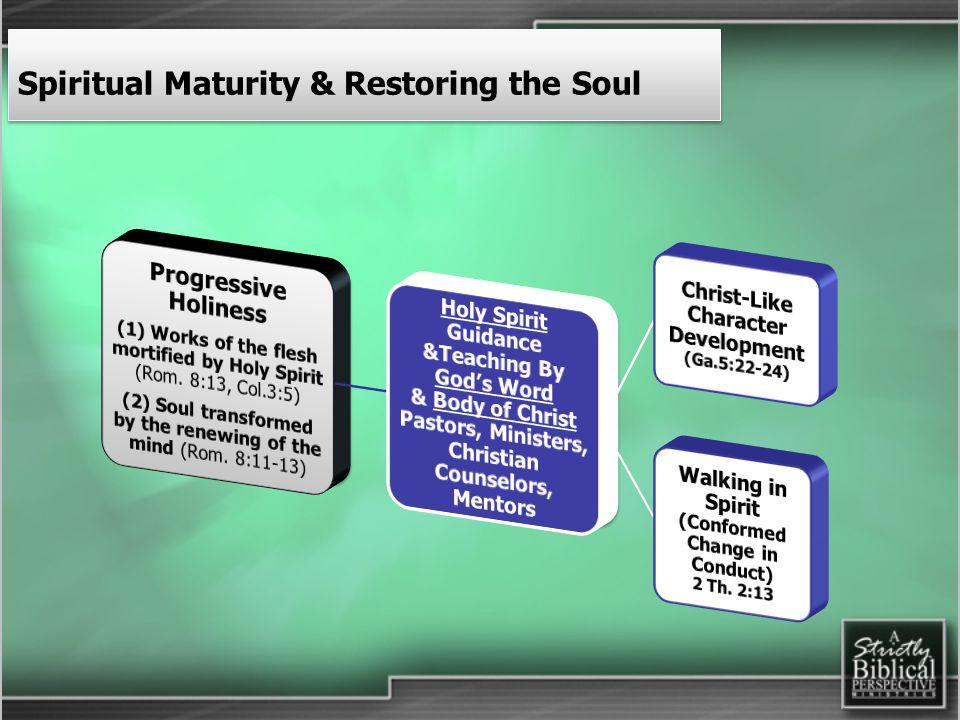 Spiritual Maturity & Restoring the Soul