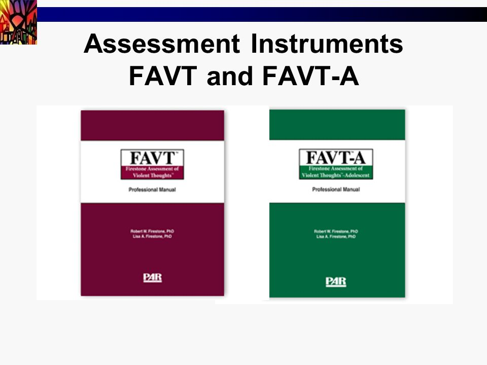 57 Assessment Instruments FAVT and FAVT-A