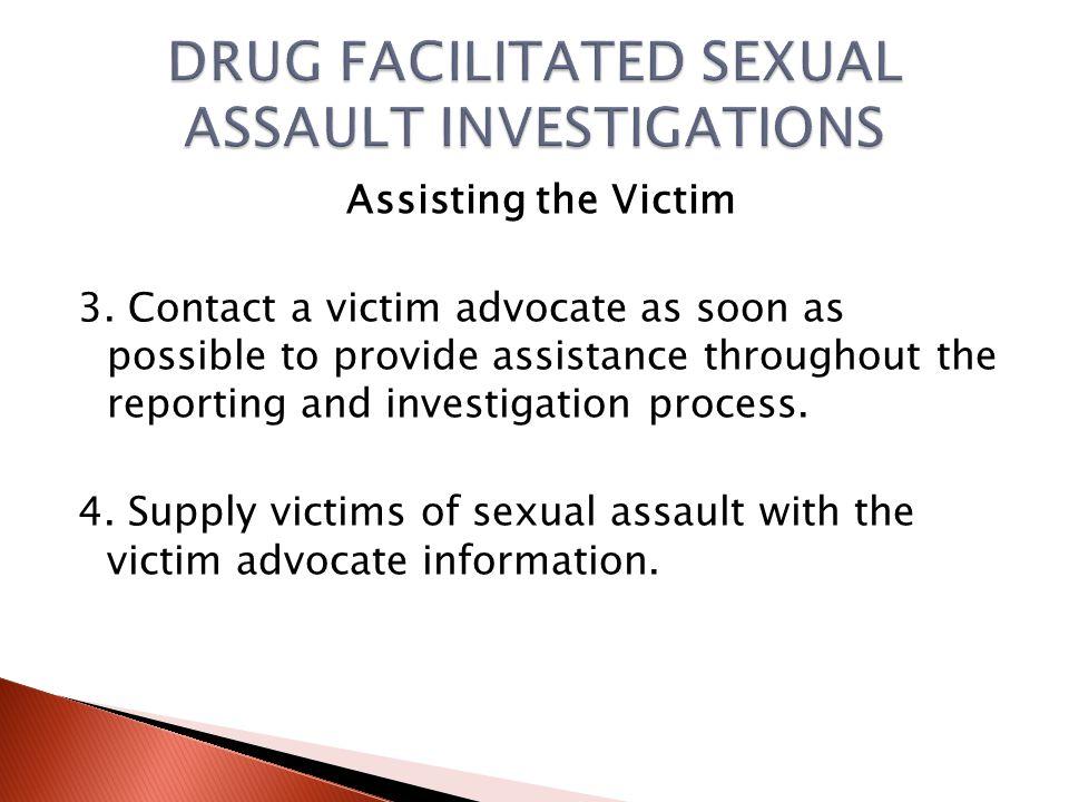Assisting the Victim 1.
