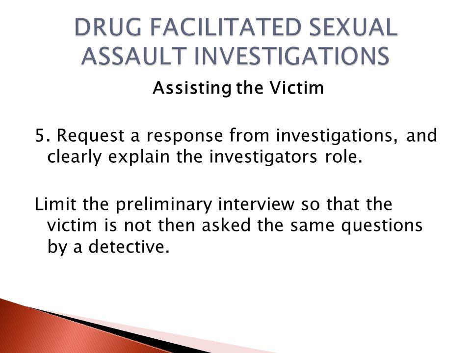 Assisting the Victim 3.