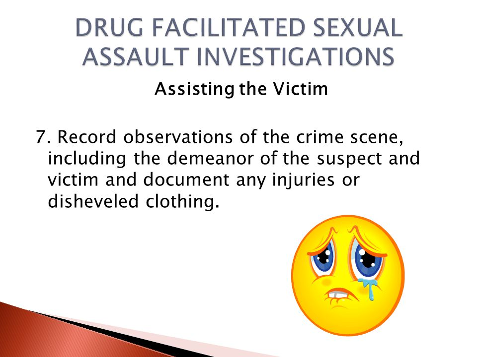 Assisting the Victim 6.