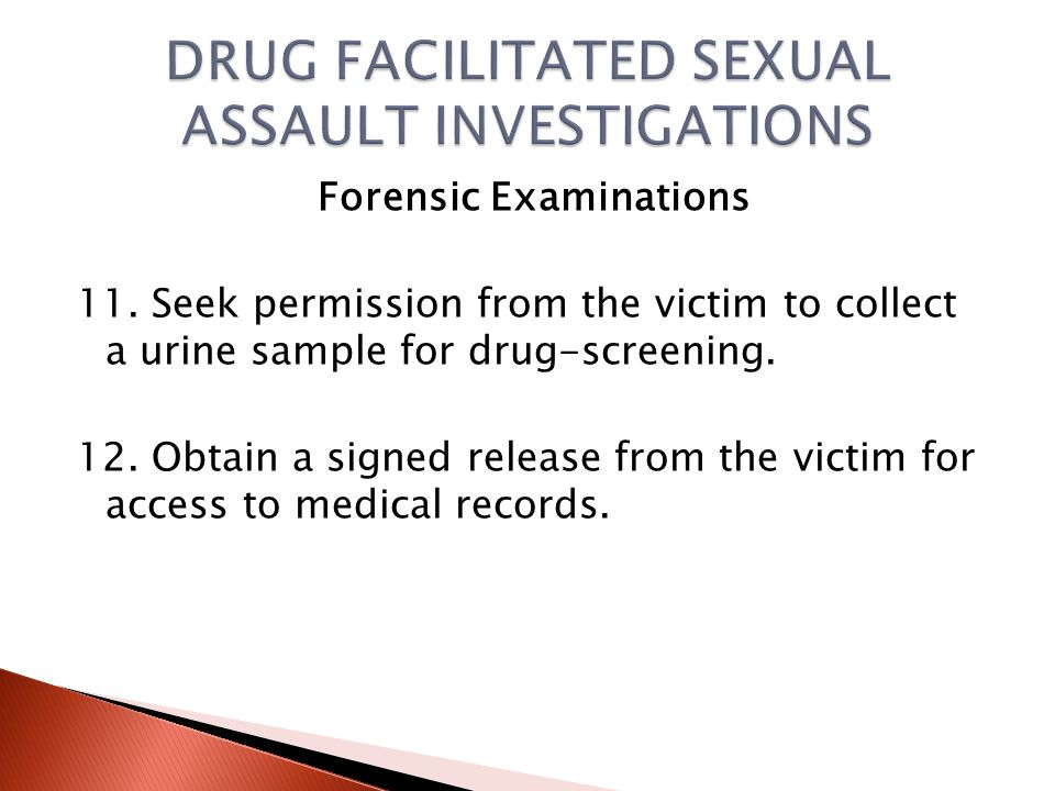 Forensic Examinations 9.