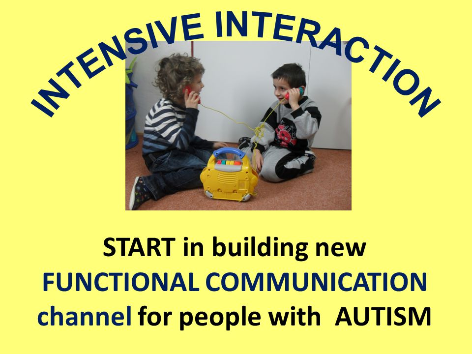 START in building new FUNCTIONAL COMMUNICATION channel for people with AUTISM