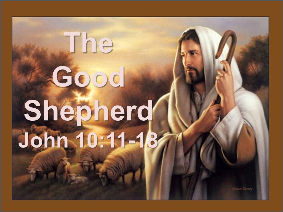 The Good Shepherd John 10:11-18