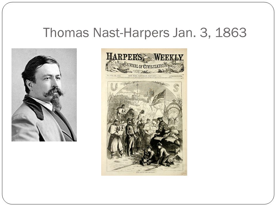 Thomas Nast-Harpers Jan. 3, 1863