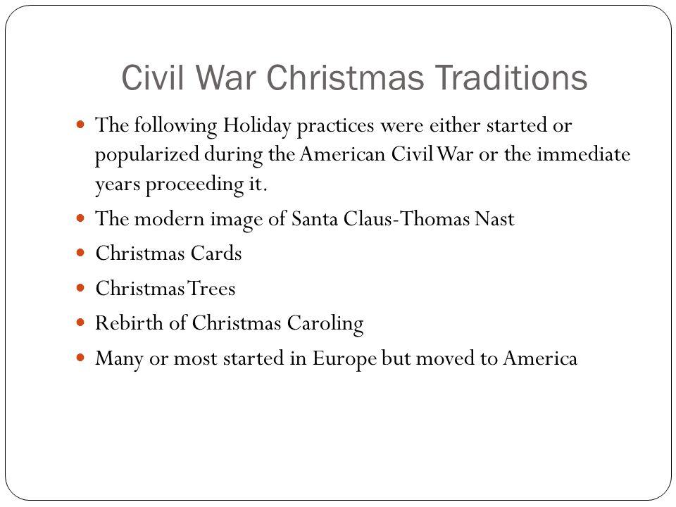English Traditions Yule Log Mistletoe Christmas greens Christmas Feast/revelry Caroling Christmas Cards Charles Dickens