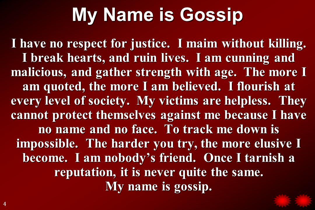 What is Gossip.