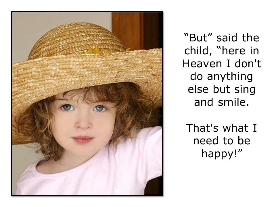 God replied,