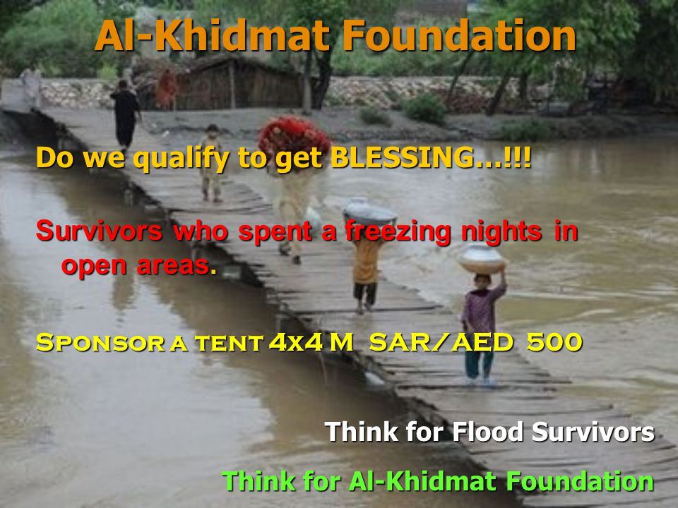 Al-Khidmat Foundation Abu Hurairah reported that the Holy Prophet S.A.W.
