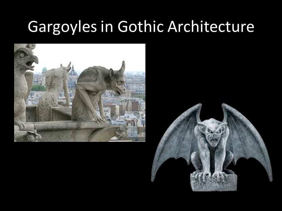 Gargoyles in Gothic Architecture