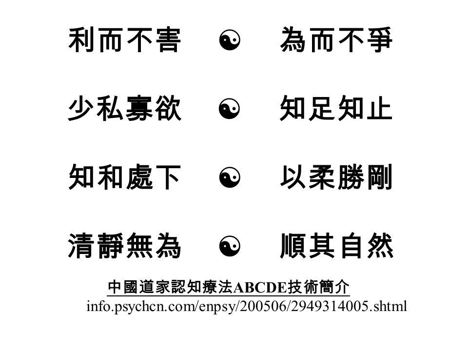 一個有迫害妄想的病人 ,可以用那些諺語幫助他