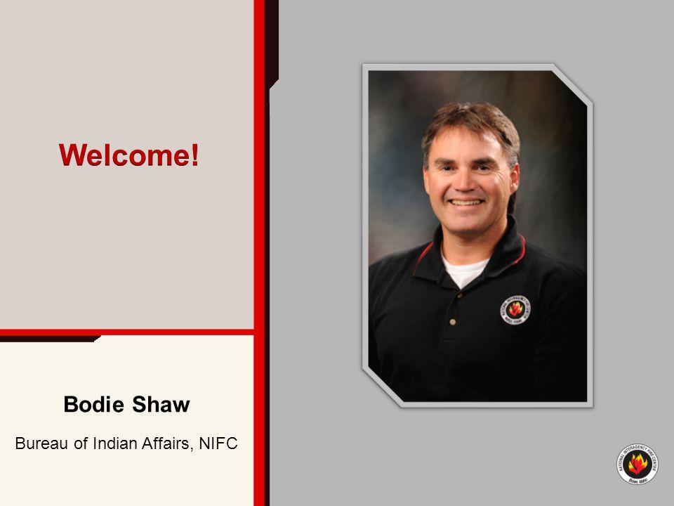 Bodie Shaw Bureau of Indian Affairs, NIFC