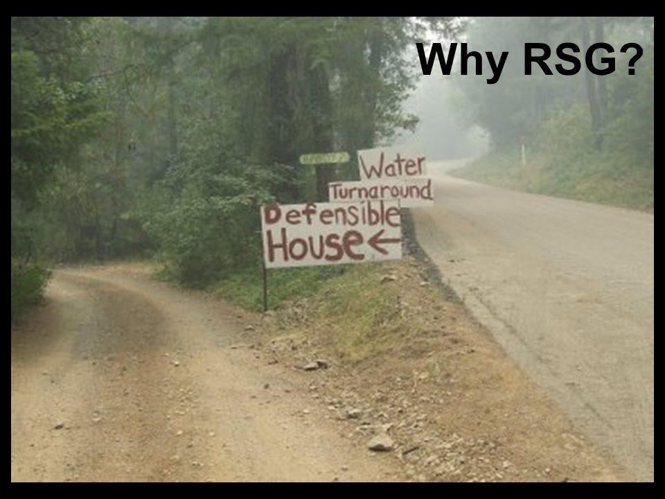 Why RSG