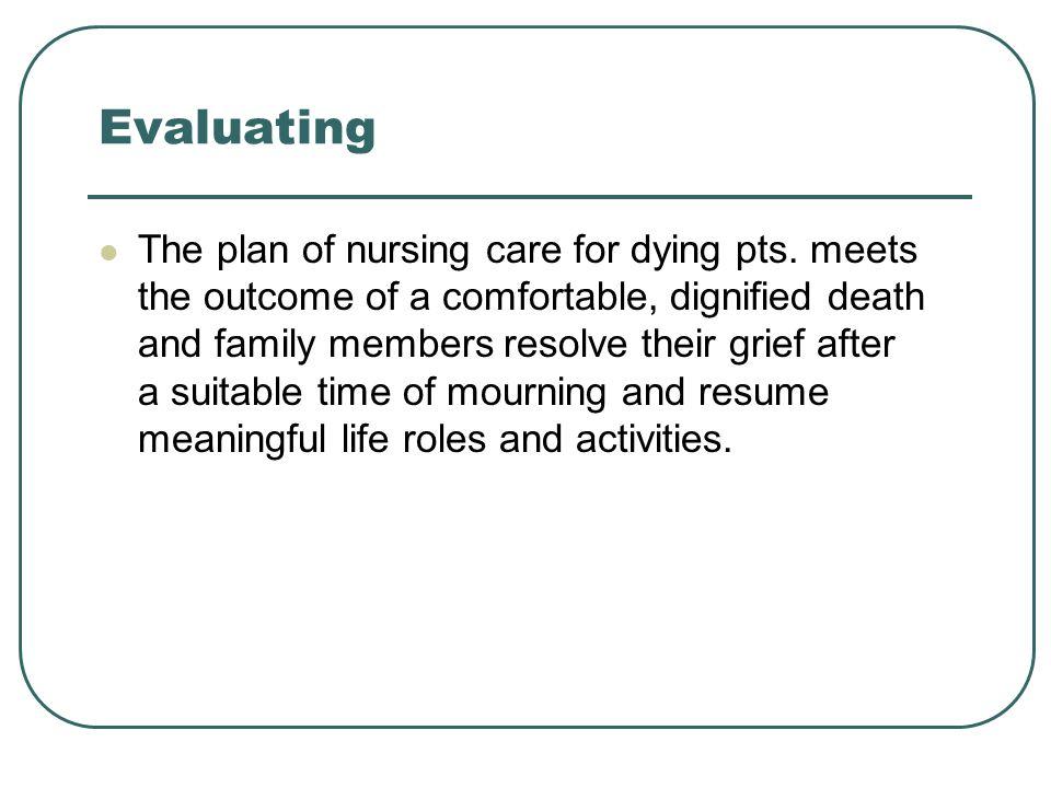 Nurses grieve too.