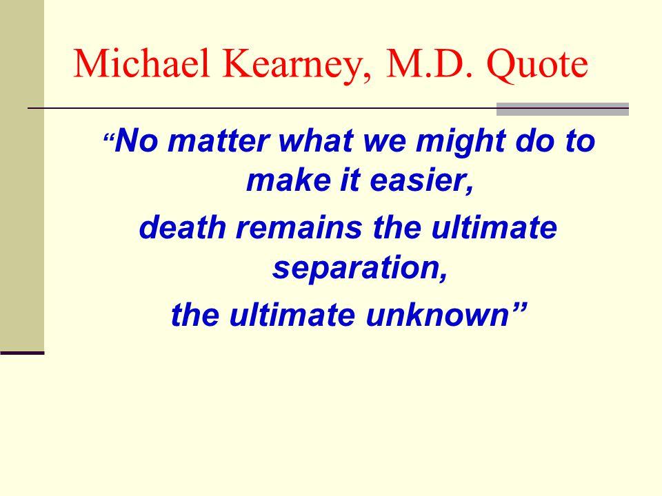 Michael Kearney, M.D.