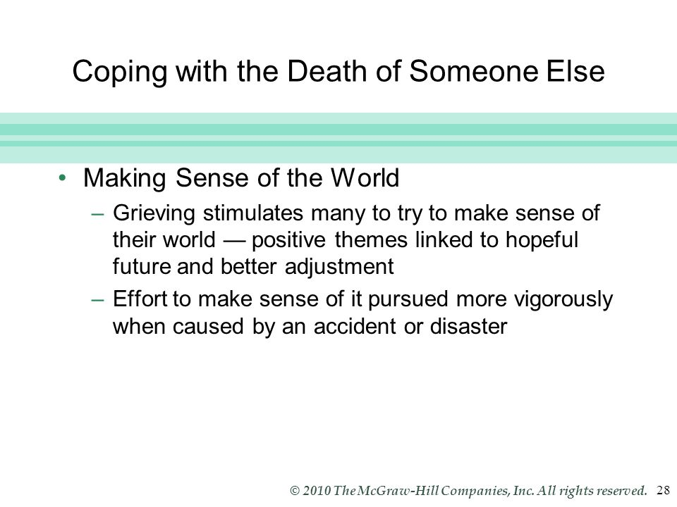 Slide 28 © 2010 The McGraw-Hill Companies, Inc. All rights reserved.