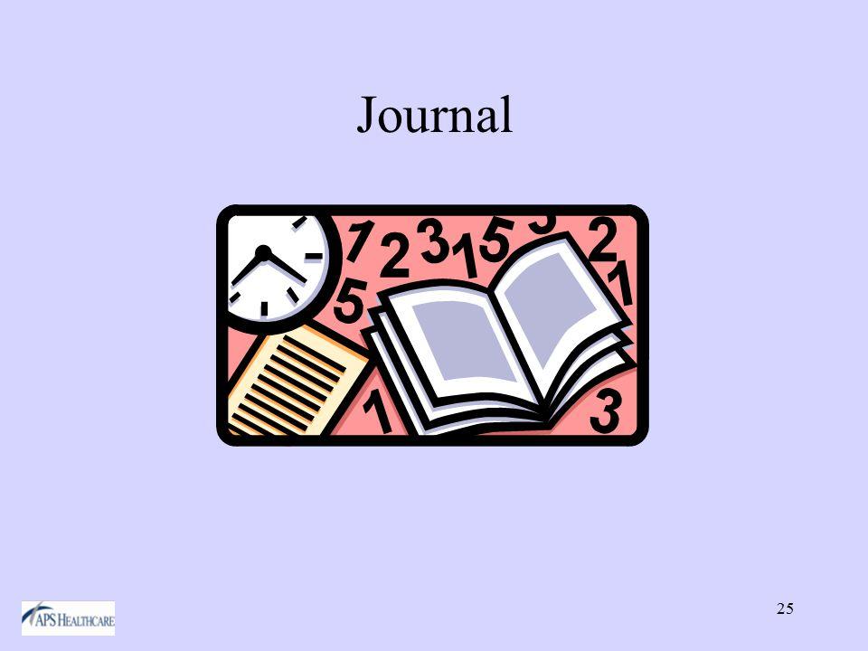 25 Journal