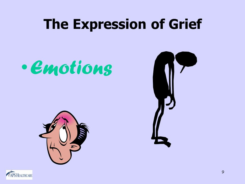 9 The Expression of Grief Emotions