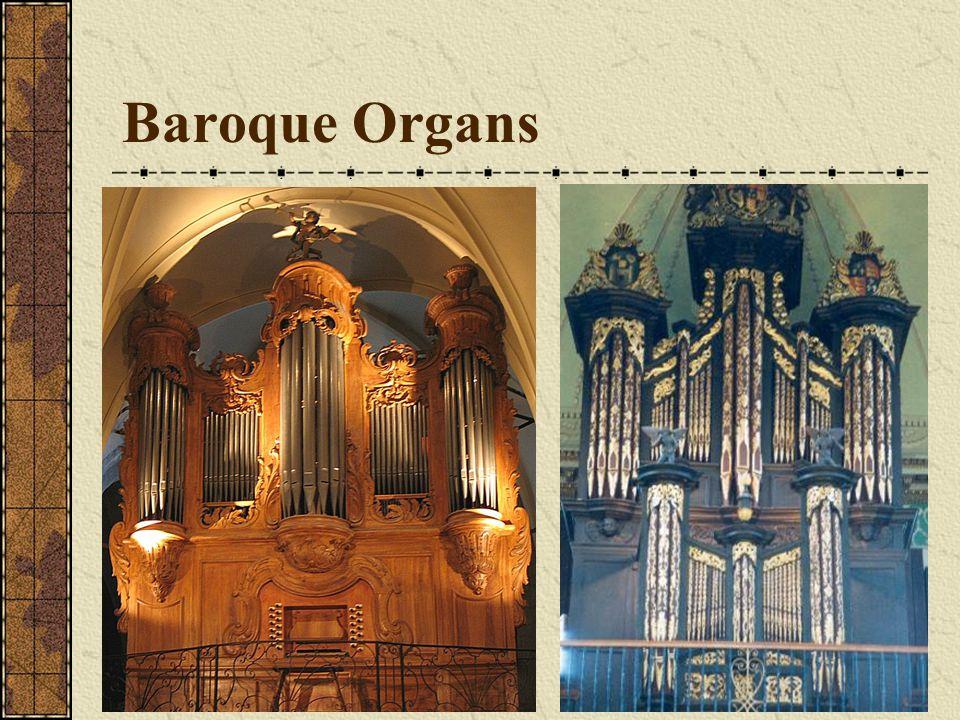 Positive organ Portative organ