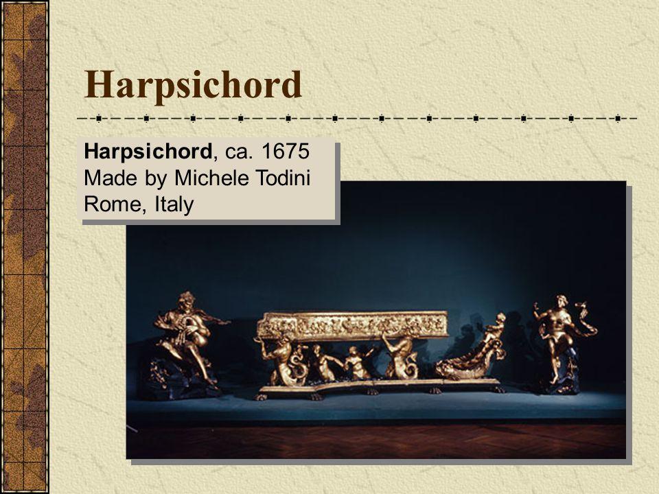 Baroque Organs