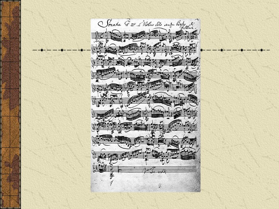 Johann Sebastian Bach Over 1000 musical pieces in every genre except opera Cantatas (1 per week for 8 years) Public complained for his flowery music Protestant themes (in search of God) Musicians felt his music too difficult