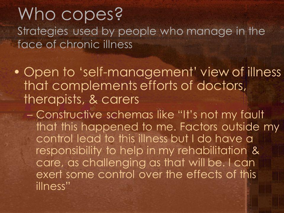 Who copes.