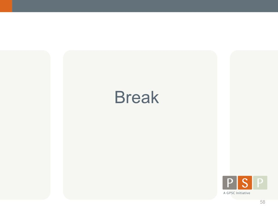 58 Break