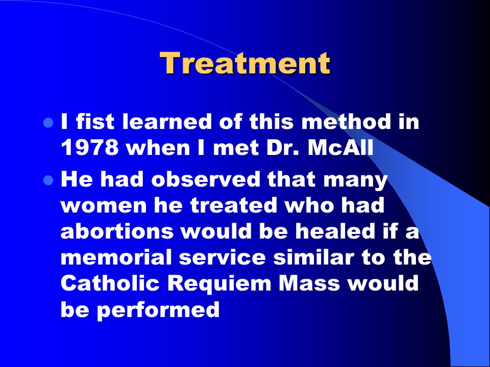 Treatment He collected an enormous number of cases beginning in 1950 of women who were healed using the technique of Requiem Healing. Among these in time were 441 cases of anorexia nervosa
