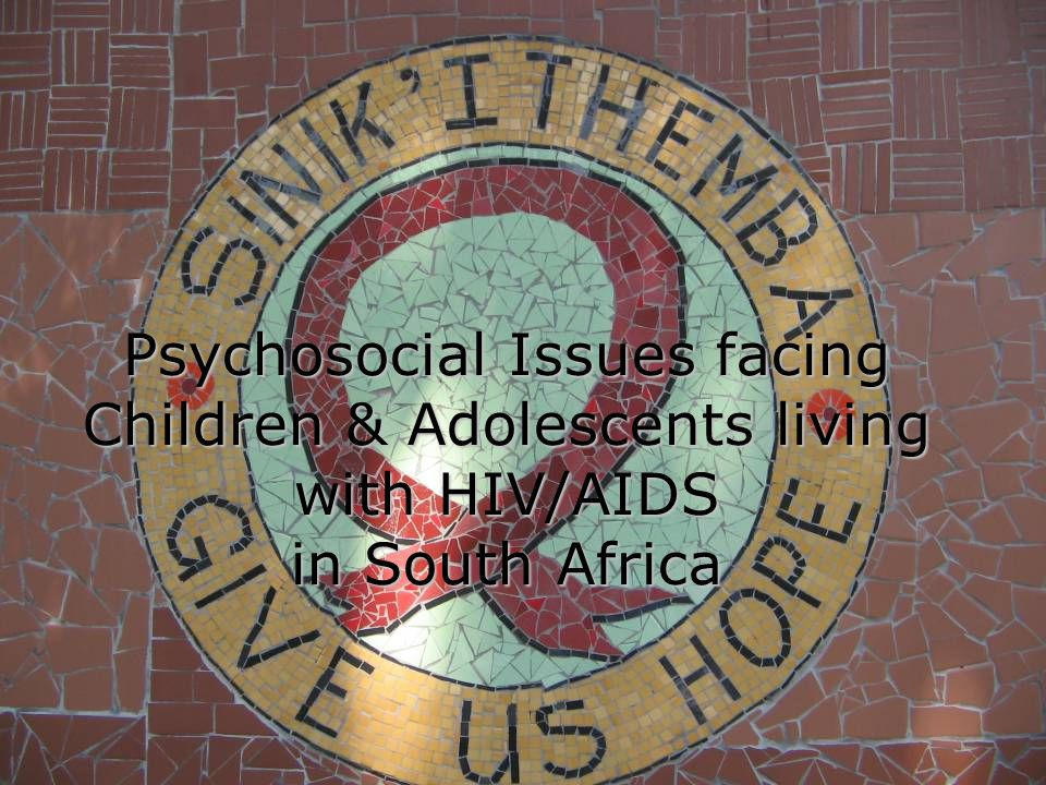Overview of Field Placement  University of Kwazulu Natal – School of Social Work & Psychology  Sinikithemba HIV/AIDS Care Centre  History  Client Population  Social Work Department