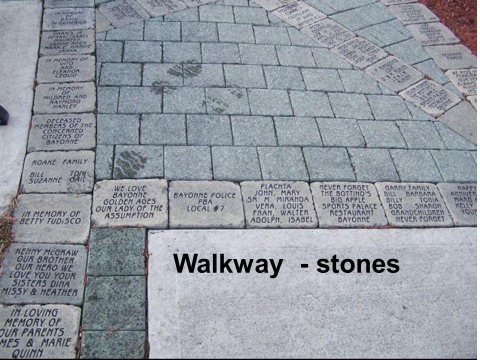 Walkway - stones