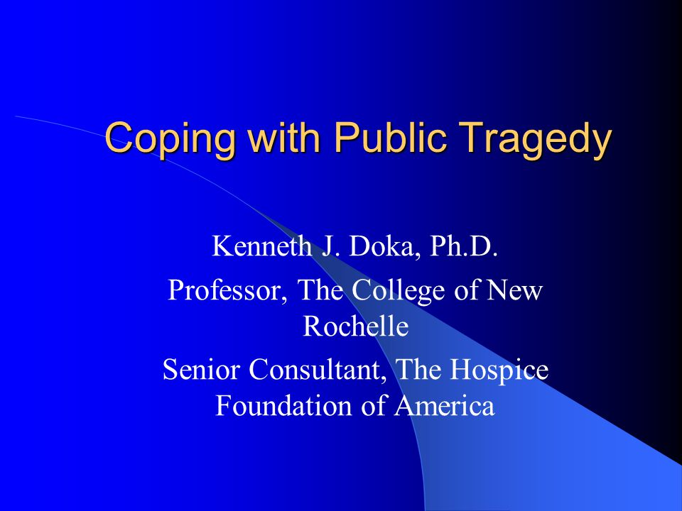 What is a Public Tragedy.