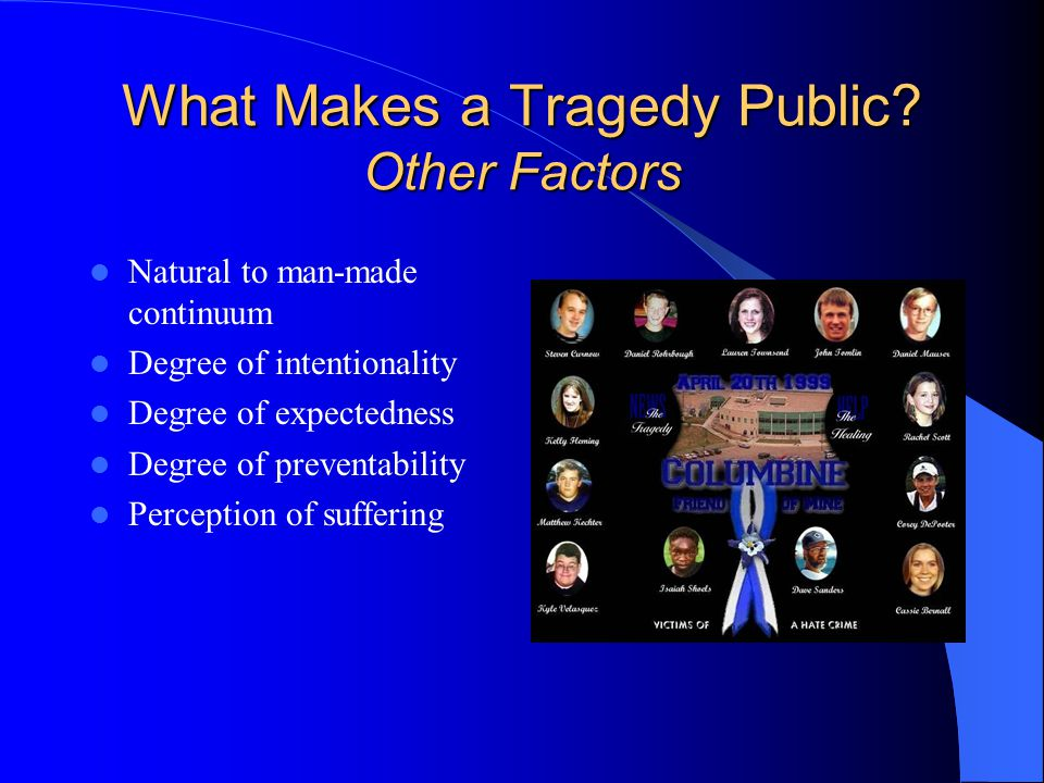 Public Ritual The Need for Public Ritual Liminal – including between reaction and response