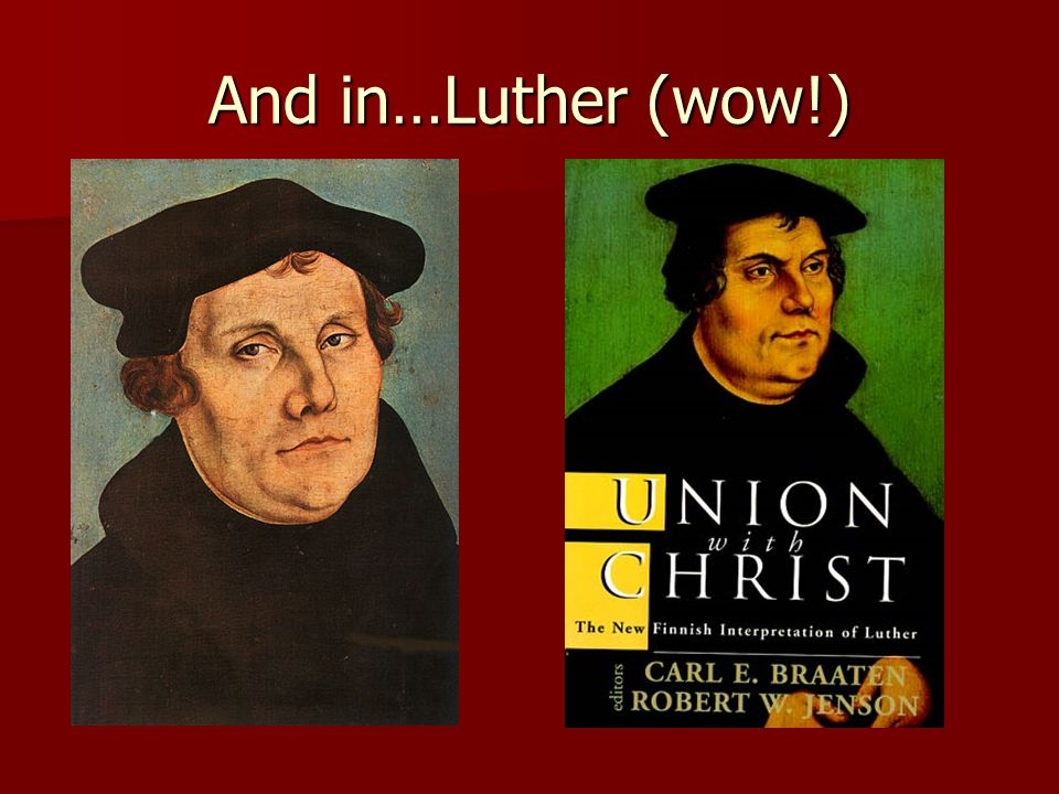 And in…Luther (wow!)