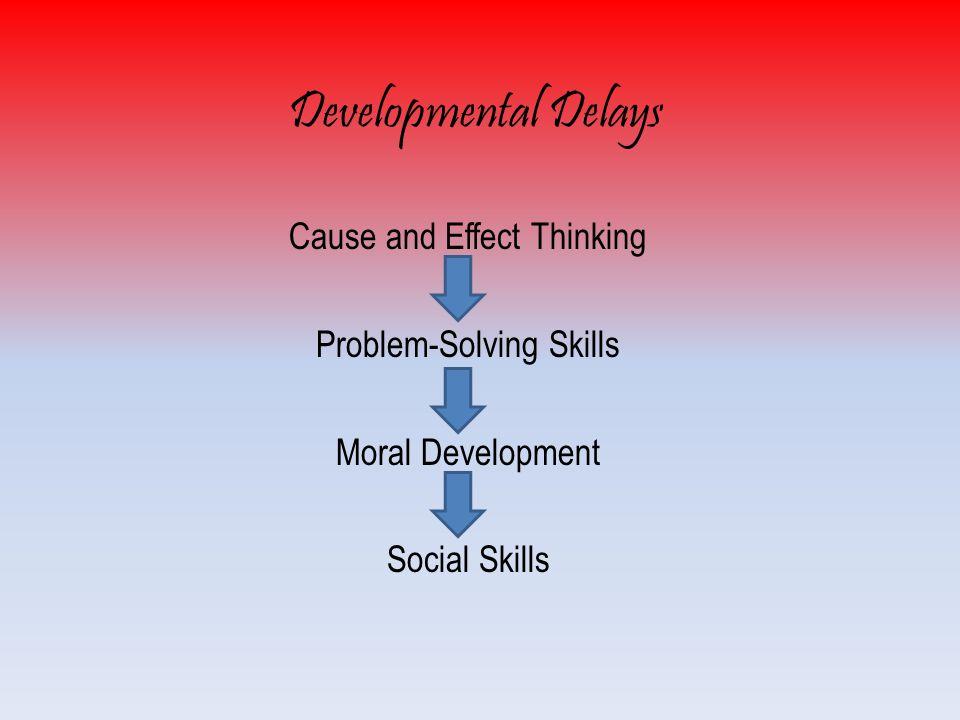 Developmental Delays Cause and Effect Thinking Problem-Solving Skills Moral Development Social Skills