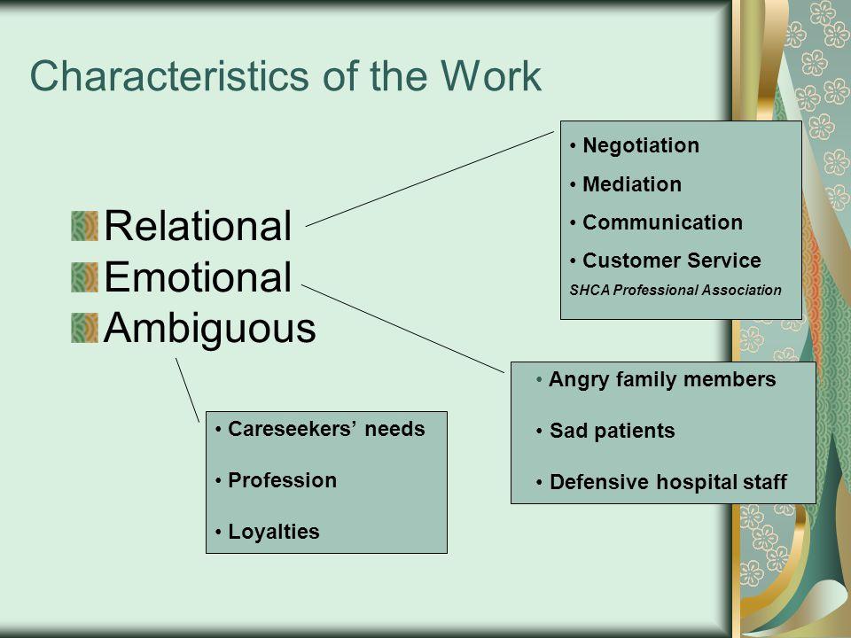 Why patient advocates.