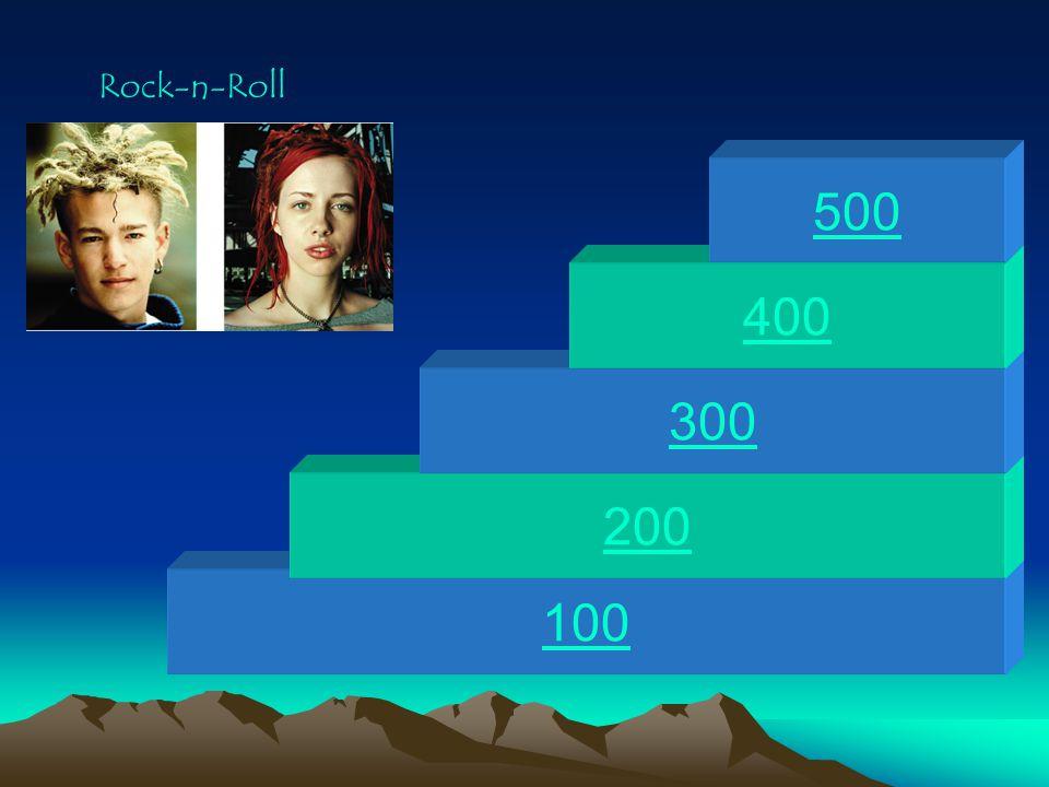 100 200 300 400 500 Rock-n-Roll