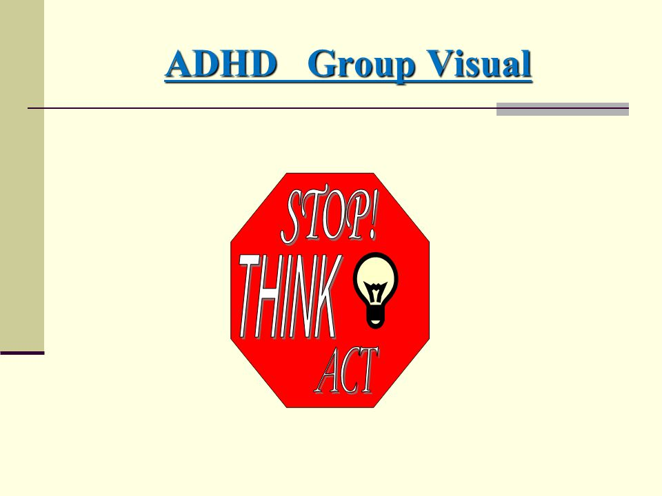 ADHD Group Visual