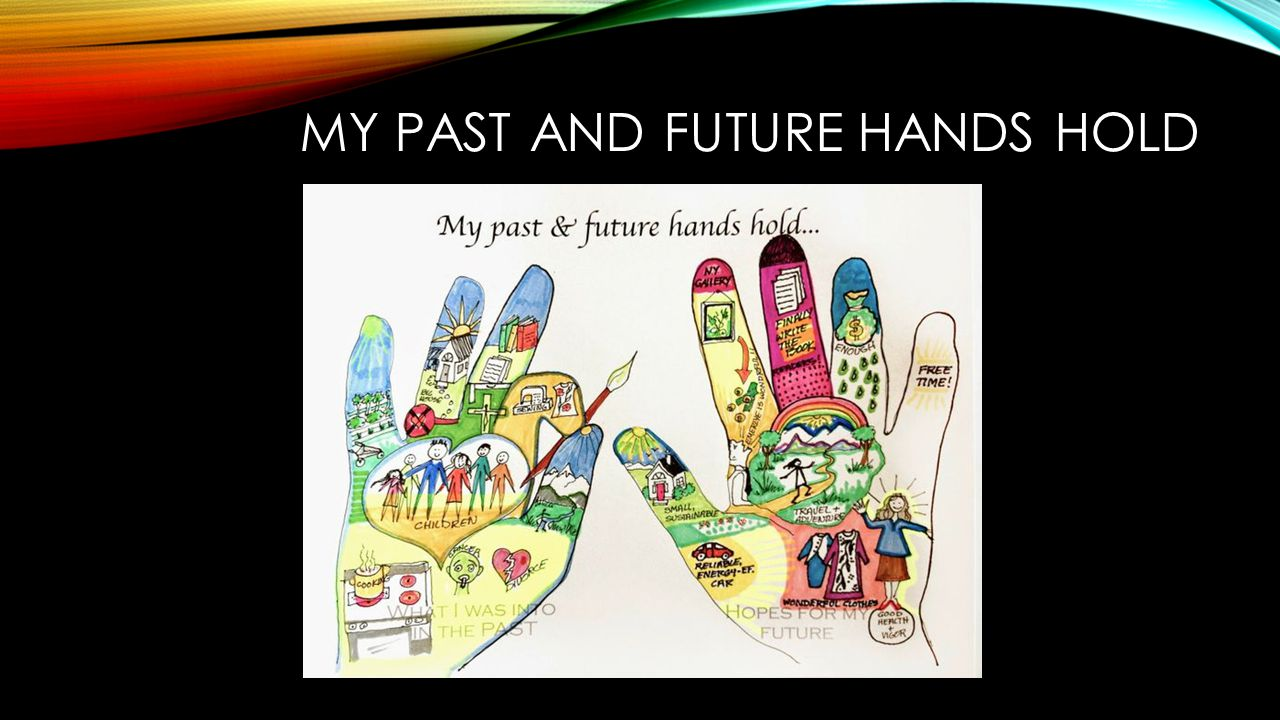 MY PAST AND FUTURE HANDS HOLD