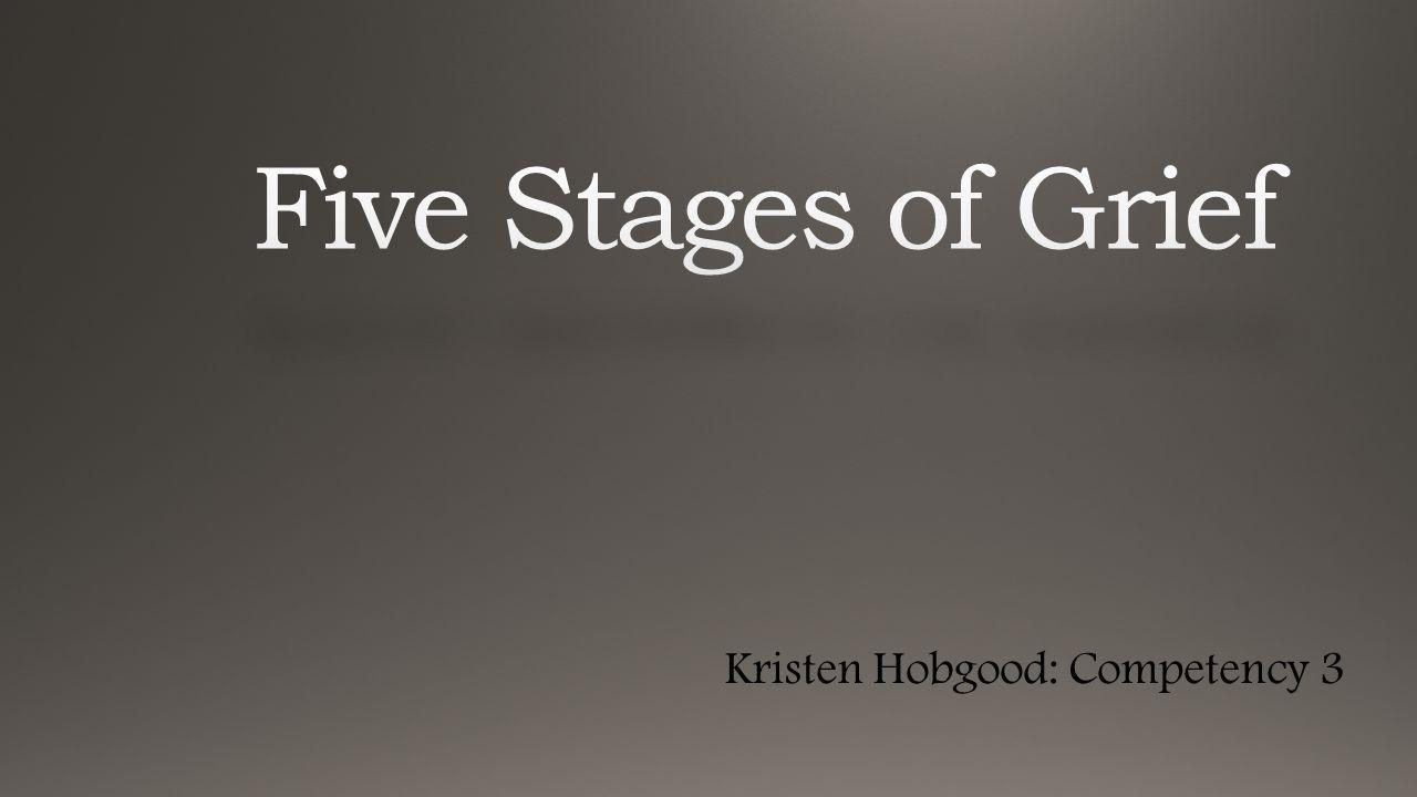 Kristen Hobgood: Competency 3